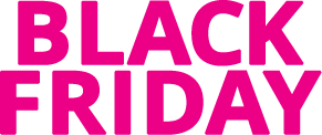 Black Friday - Black Weekend: Opptil 85 % hos Get Inspired!